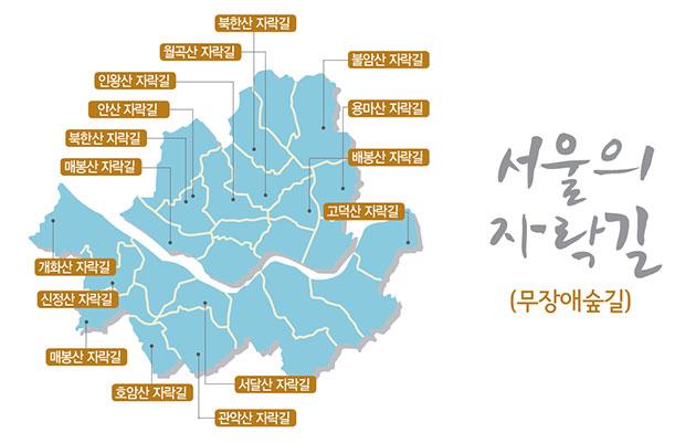 서울의 자락길(무장애숲길)