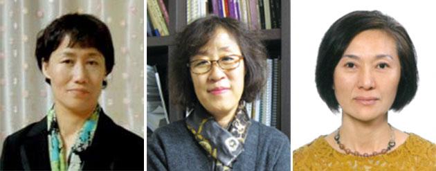 최명숙, 김명실, 정진옥 씨(좌측부터)