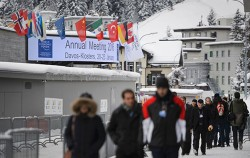 서울시는 지난 1월 스위스에서 열린 다보스포럼에서 앙헬 구리아 OECD 사무총장이 제안한 포용적 성장 캠페인의 시장 참여를 수락한 바 있다ⓒ연합뉴스