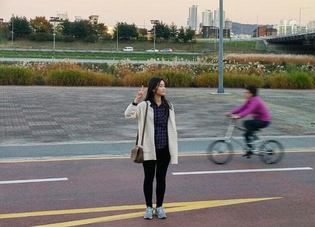 김주련 씨는 현재 중국 교환학생 지원을 준비하고 있다