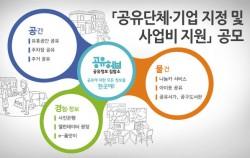2016년 2차 공유단체·기업 지정 및 지원 사업