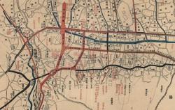 서대문역(좌측 중간)과 남대문역(좌측 하단) ⓒ서울시 지도서비스