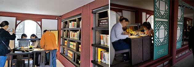 특별한 도서관에서 아이도, 어른도 독서삼매경