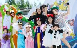지난해 어린이날 능동 어린이대공원에서 열린 `서울동화축제`에 참여한 어린이들ⓒ뉴시스