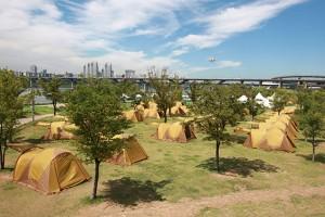 15일 10시부터 클릭! 한강 여름캠핑장 예약