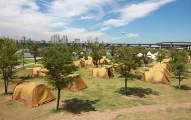 뚝섬 캠핑장