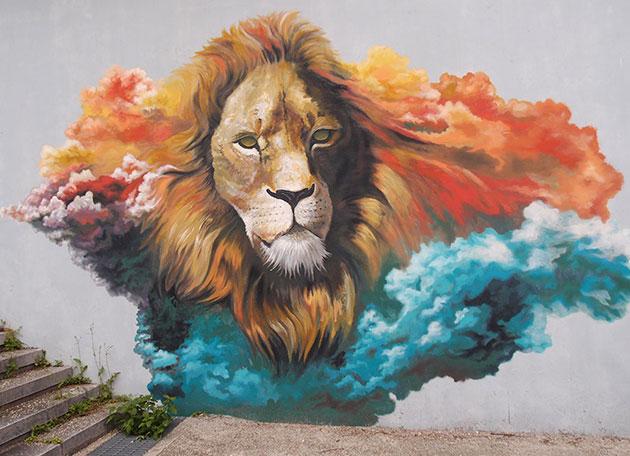 사자, 치타, 얼룩무늬 하이에나 등을 보유한 `제3아프리카관`