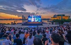 반포한강공원 세빛섬의 여름밤