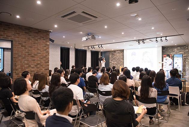 서울시 일자리카페 1호점에서 열린 취업특강