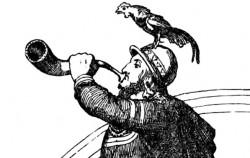 북유럽 신화의 신 헤임달은 밝은 눈과 귀로 침입자가 있는지 항상 감시한다. 신화 시대의 레이더다.ⓒWikipedia
