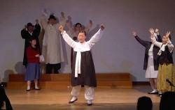 서대문구 시민들이 공연한 유관순 연극 장면