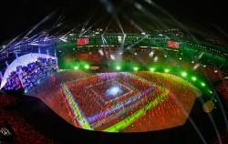 브라질 리우데자네이루 마라카낭 주경기장에서 열린 2016 리우올림픽 개막식ⓒ뉴시스