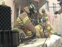 지진방안 대책훈련