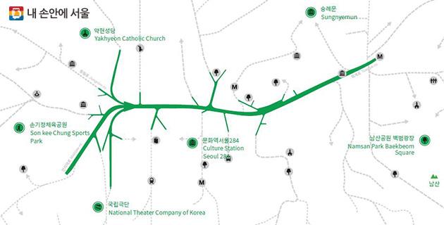 서울역 고가 보행로