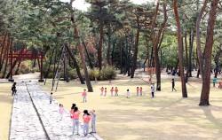 조선왕릉은 도심 속 역사적 공간이자 시민들의 편안한 휴식공간이다. ⓒ권영임