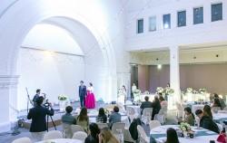시민기획단이 직접 기획하고, 실제 예비부부가 참가해 시연한 시민청 작은 결혼식. ⓒ이현정