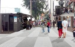 남대문시장 구간 보행환경개선