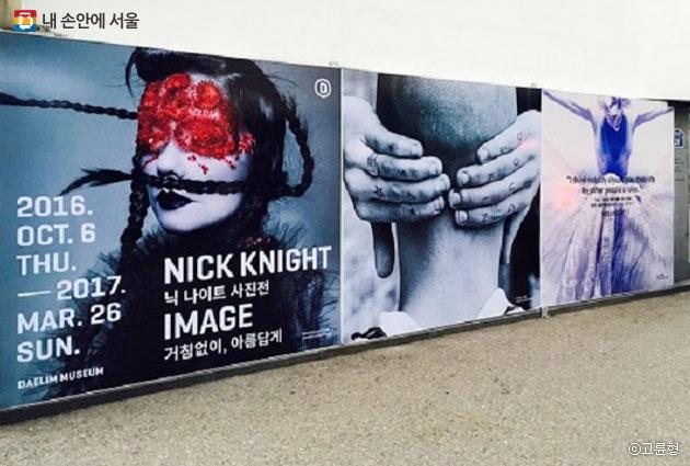 `닉 나이트 사진전-거침없이, 아름답게`가 서울시 중구 대림미술관에서 내년 3월까지 열린다. ⓒ고륜형