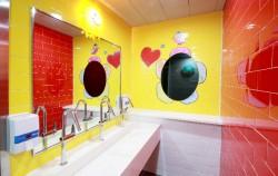 구로구 구로초등학교 여자화장실 양치대