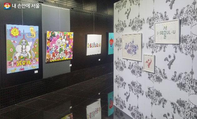 `서울 브랜드 아트 展`에는 20명의 작가가 참여했다.ⓒ손준수