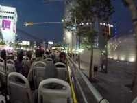야간 시티투어버스로 둘러보는 서울 시내 야경의 모습