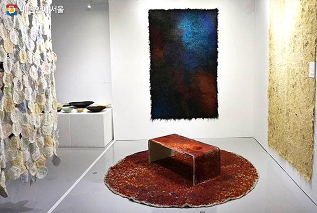 안해익, 유미현 작가의 업사이클링 작품