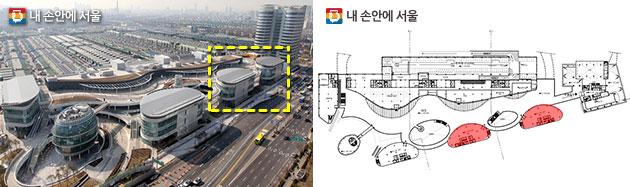 서울먹거리창업센터 위치 및 공간
