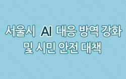 서울시 AI 긴급대책