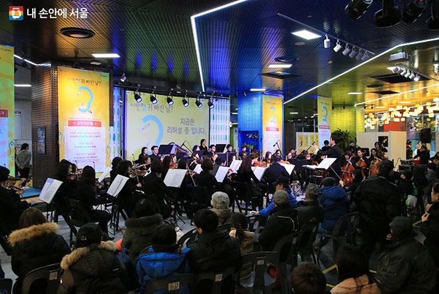 서울시청 지하, 시민 전용공간으로 제공하는 `시민청`