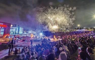 시민이 뽑은 2016년 서울시 10대 뉴스 중 2위를 차지한 한강몽땅 여름축제 모습