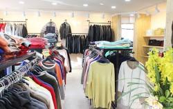 패션봉제업체들이 조합을 설립해 직접 소비자에게 제품을 판매하고 있는 중랑구 공동판매장. ⓒ권영임