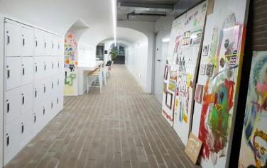 연세대 정문 앞 지하보도를 개조해 만든 창작놀이센터 내부 ⓒ장은희