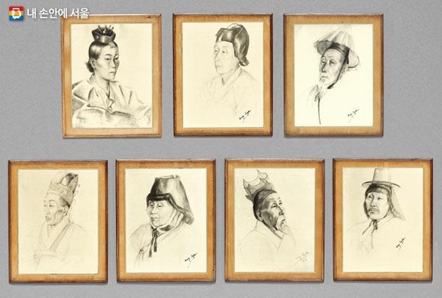 메리 테일러가 그린 한국인 초상화