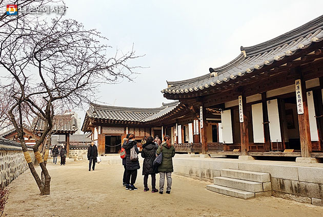 남산골한옥마을에 이전, 복원된 조선시대 가옥