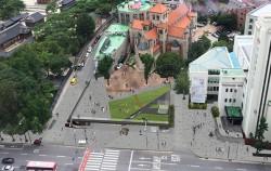통합시민광장 조감도