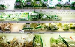 생협의 채소들은 가격도 저렴하지만 모두 친환경 농산물이다 ⓒ이현정