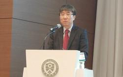 장하준 영국 케임브리지대 경제학과 교수가 연세대 동문회관에서 '더불어 함께, 대한민국 경제'를 주제로 강연했다. ⓒ박희영