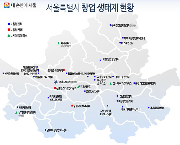 서울시 창업생태계 현황
