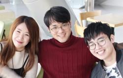 청년 소셜미디어 PD 3인 강선희, 이동규, 김송환 (왼쪽부터 차례대로)ⓒ 변경희