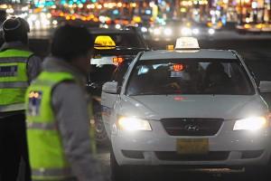 카드 선승인·앱으로 택시 안전하게 이용하세요