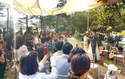 월드컵공원 소풍결혼식 전경
