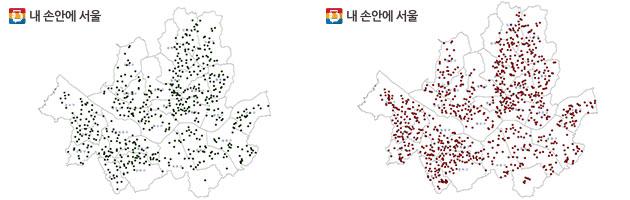 국공립어린이집 분포도 2011년 658개소→2016년 1,419개소