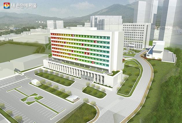 서울창업허브 조감도