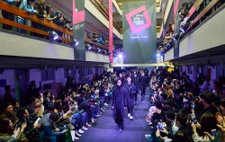 29일 세운상가에서 진행된 서울 365 패션쇼