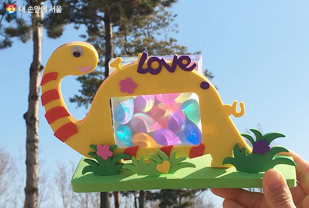 서울상상나라의 `빛을 품은 공룡` 만들기 프로그램