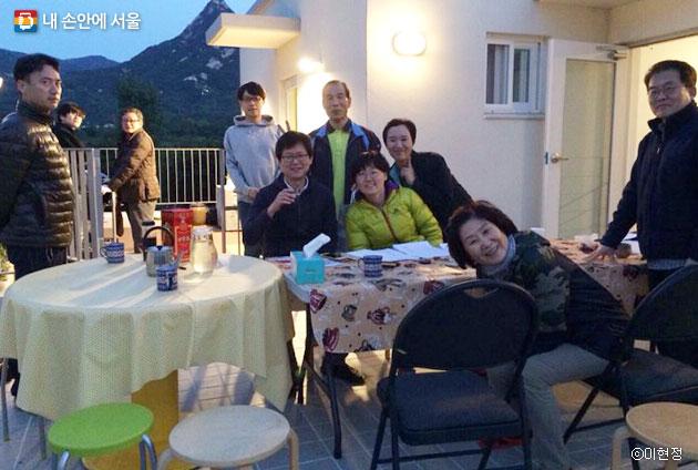 김수동 이사장은 뜻을 함께하는 사람들과 공동체 주택을 짓고 지난해 입주했다. ⓒ이현정