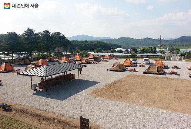 철원 평화마을 캠핑장