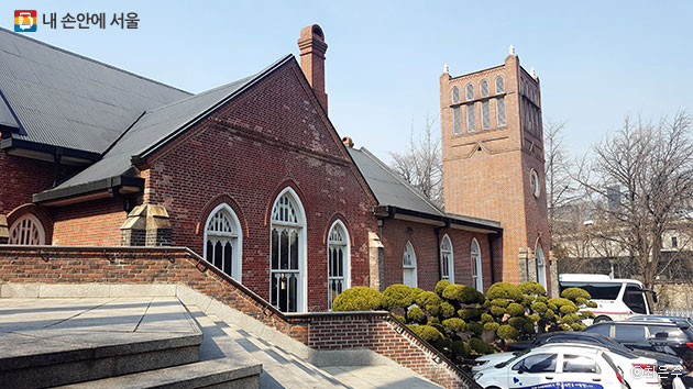 유관순 열사의 장례식이 치러졌던 정동제일교회 ⓒ최은주