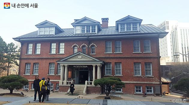 1916년에 지어진 배재학당 역사박물관 ⓒ최은주