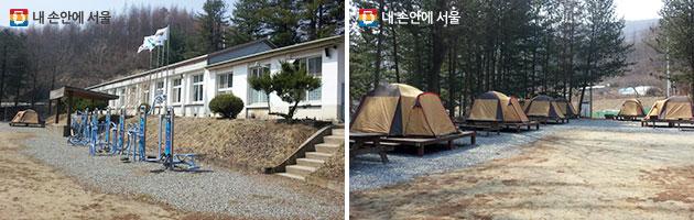 횡성 별빛마을 캠핑장